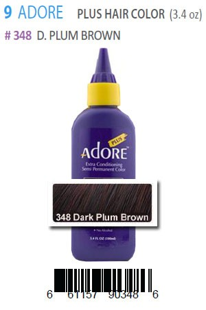 [Adore-box#9] Plus Hair Color #348 D.Plum Brown