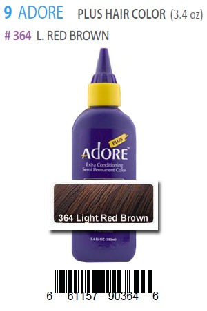 [Adore-box#9] Plus Hair Color #364 L.Red Brown