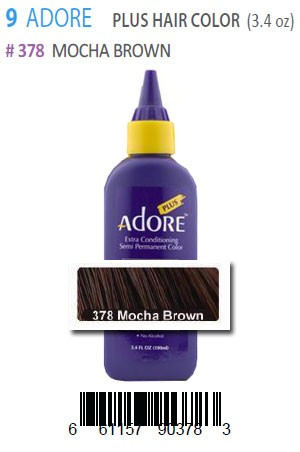 [Adore-box#9] Plus Hair Color #378 Mocha Brown