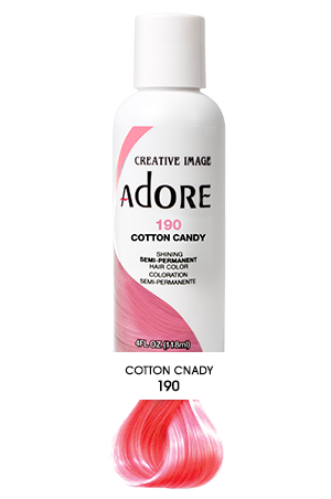 [Adore-box#1] Semi Permanent Hair Color (4 oz)- #190 Cotton Condy
