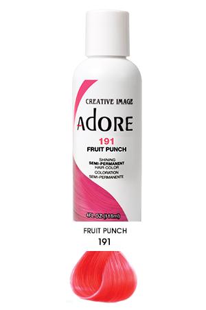 [Adore-box#1] Semi Permanent Hair Color (4 oz)- #191 Fruit Punch