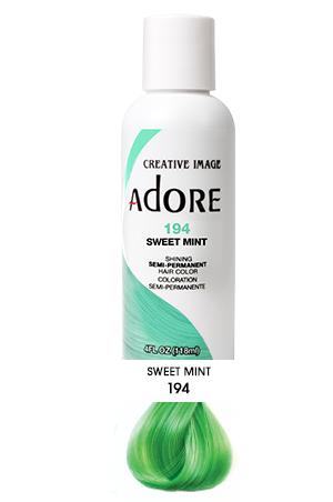 [Adore-box#1] Semi Permanent Hair Color (4 oz)- #194 Sweet Mint