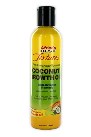 [Africa's Best-box#101] Texture Coconut Growth Oil (8oz)