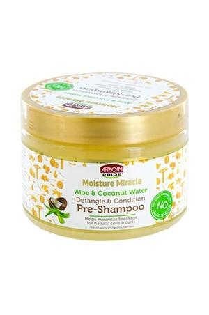 [African Pride-box#73] Moist Miracle Aloe&Coconut Pre-Shampoo (12 oz)
