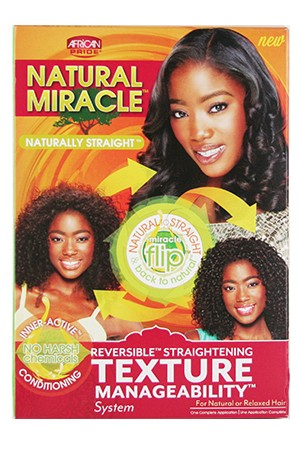[African Pride-box#54] Natural Miracle Texture Manageability Kit