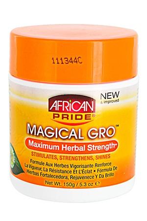 [African Pride-box#9] Magical Gro -Maximum Herbal(5.3oz)