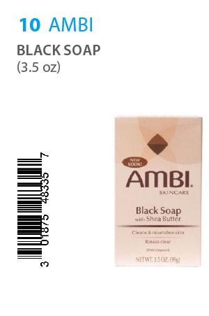 [Ambi-box#10] Black Soap (3.5oz)