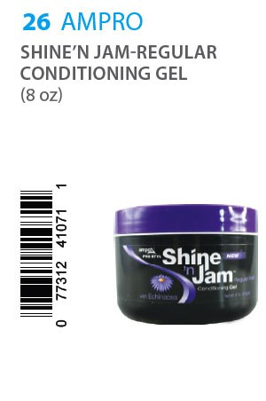 [Ampro-box#26] Shine'n Jam - Regular Conditioning Gel (8 oz)
