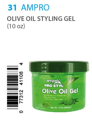 [Ampro-box#31] Olive Oil Styling Gel (10 oz)