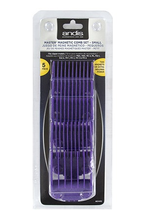 [ Andis ]  Master Magnetic Combs Set [5pcs] #01410
