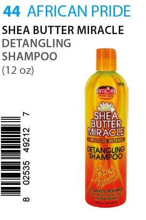 [African Pride-box#44] SB Miracle Detangling Shampoo (12oz)