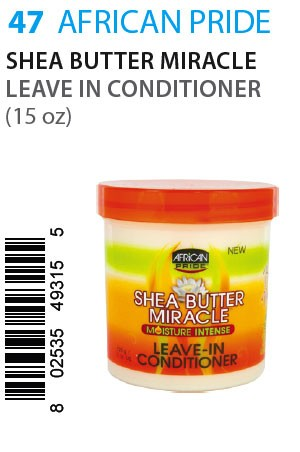 [African Pride-box#47] SB Miracle Leave In Conditioner (15oz)