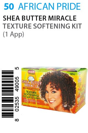 [African Pride-box#50] SB Miracle Texture Softening Kit (1app)