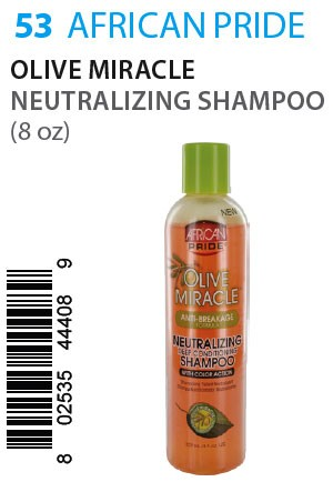 [African Pride-box#53] Olive Miracle Neutralizing Shampoo (8oz)