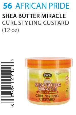 [African Pride-box#56] SB Miracle Curl Styling Custard (12oz)