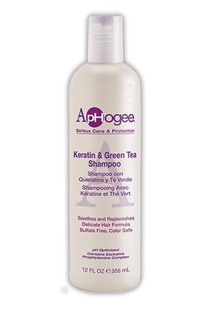 [Aphogee-box#27]  Kerain&Green Tea Shampoo (12oz)