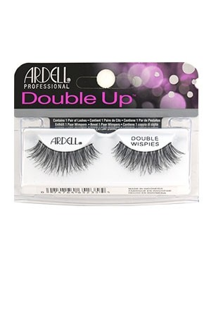 [Ardell] Double Up Eyelashes #Double Wispies (Black)