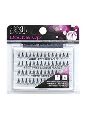 [Ardell] Double Up Eyelashes #Knot Free (Medium Black)