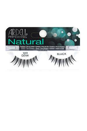[Ardell] Natural Eyelashes #102 (Demi Black)
