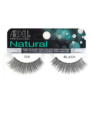 [Ardell] Natural Eyelashes #105 (Black)