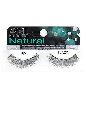[Ardell] Natural Eyelashes #109 (Black)