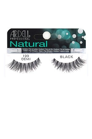 [Ardell] Natural Eyelashes #120 (Black)