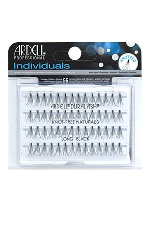 [Ardell] Eyelashes Individuals Knot Free Flares (Long Black)