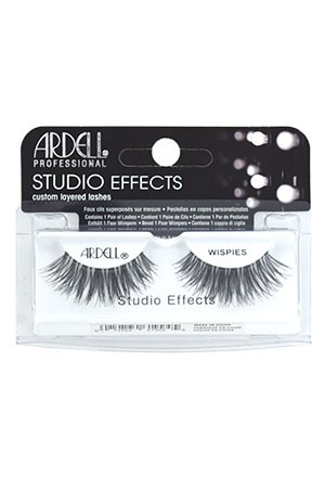 [Ardell] Studio Effects Eyelashes #Wispies (Black)