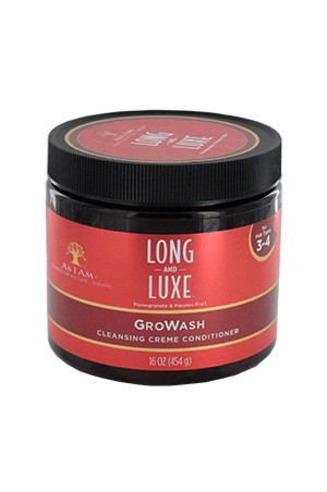[As I Am-box#22] Long & Luxe Gro Wash (16 oz)