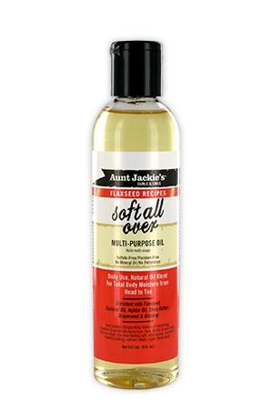 [Aunt Jackie's-box#14] Flaxseed Multi-Purpose Oil(8oz)