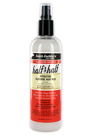 [Aunt Jackie's-box#15] Flaxseed Hydrating Silken Hair Milk (12oz)