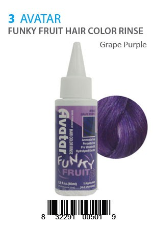 [Avatar-box#5] Funky Fruit Hair Color Rinse #Grape Purple