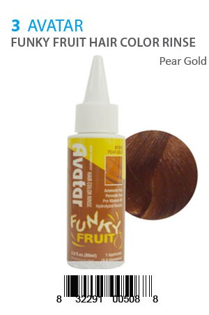 [Avatar-box#5] Funky Fruit Hair Color Rinse #Pear Gold