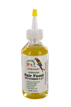 [B's Organic-box#24] Jamaicanl Hair Food w/Vit. A&E (4oz)