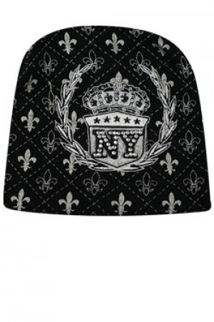 NY Knit Crown Stone Cap  - #BE1044