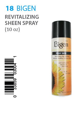 [Bigen-box#18] REVITALIZING SHEEN SPRAY (10oz)