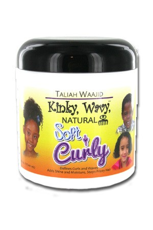 [Taliah Waajid-box#31] Kinky Wavy Natural Soft and Curly (6oz)