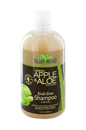 [Taliah Waajid-box#57] Black Earth Apple Aloe Shampoo (12 oz)