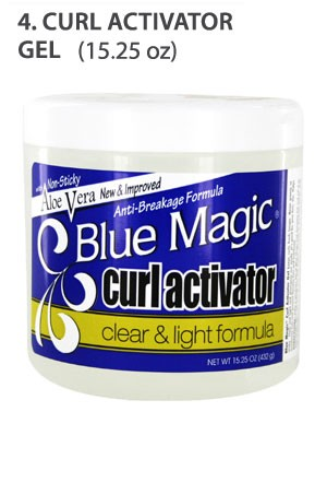 [Blue Magic-box#4] Curl Activator Gel (15.25 oz)