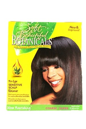 [Botanicals-box#2] Sensitive Scalp Relaxer Kit - Coarse (1 App)