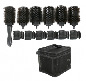 [#BR69490SHK/42] Brush Set-Detachable handle therma-set