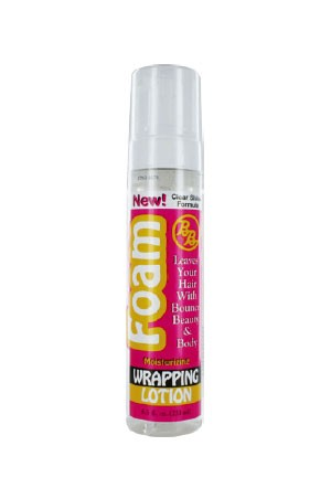 [Bronner Bros-box#3] Pump It Up Foam Wrapping Lotion (8.5oz)