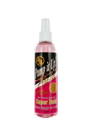 [Bronner Bros-box#5] Pump It Up Gold Supper Hold (8oz)