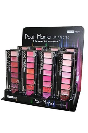 [BTS528-box#19] Pout Mania Lip Pallette (24/DP)