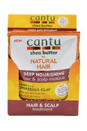 [Cantu-box#59] Rhassoul Clay  (1.5 oz x 6pc)