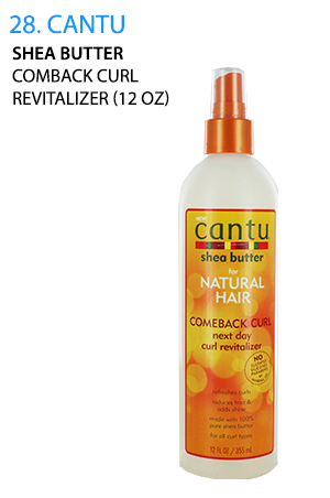 [Cantu-box#28] Shea Butter Comback Curl Revitalizer (12oz)