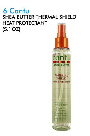 [Cantu-box#6] Shea Butter Thermal Shield Heat Protectant (5.1 oz)