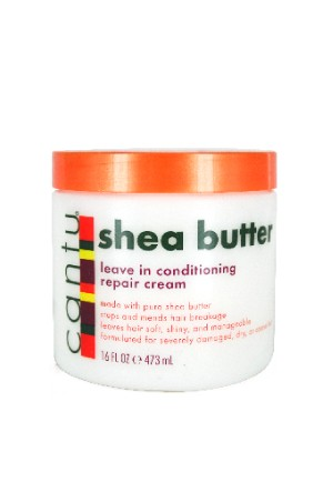 [Cantu-box#1] Shea Butter Leave in Conditioning Repair Cream (16 oz)