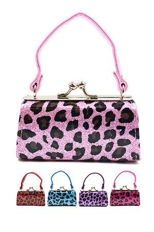 Coin Mini Purse w/ Handle (Asst) #CH002 - pc