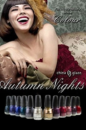 [China Glaze] AUTUMN NIGHTS -pc